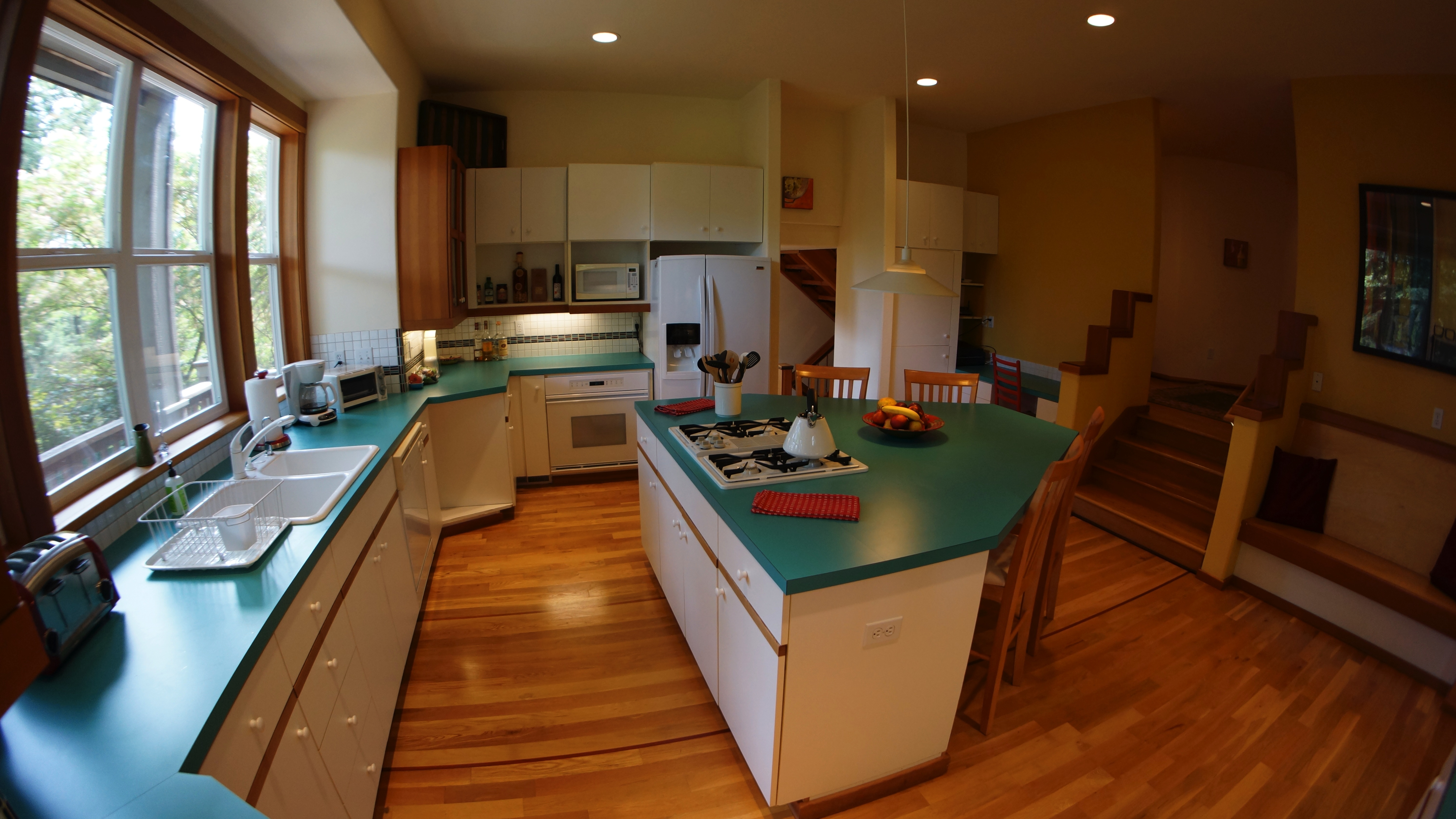 I'm in love with this SPACIOUS 'Eat-In-Kitchen'. <BR>You will fall in love too!<BR>
